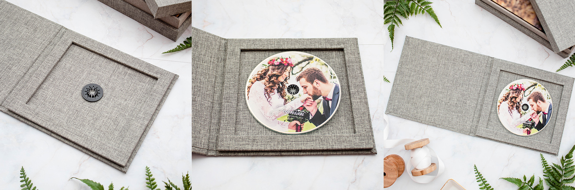 DVD for your wedding photos