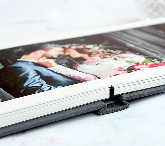 custom 11x8 8x8 8x11 classic layflat photo books linen cover