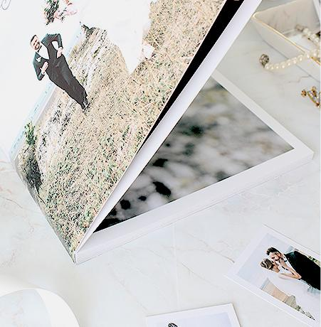 softcover layflat photo book
