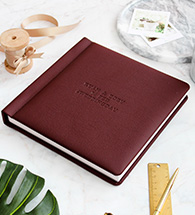 Leatherette Layflat Photo Album